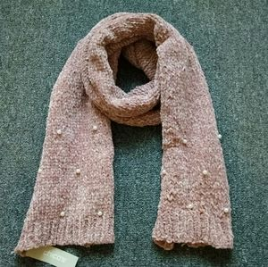 Brand new Chico's chunky knitted scarf